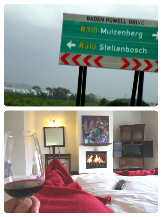 Vin-rent i Stellenbosch.