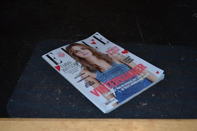 Artig med gratis lesestoff på døra.